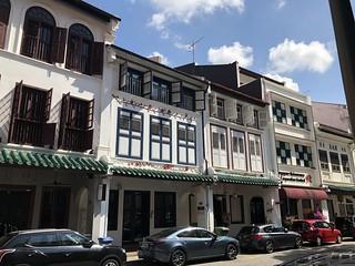 Arquitectura tradicional. Singapur