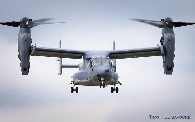 RIAT19   US Air Force Bell-Boeing CV-22 Osprey   08-0051