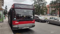 EMT València Renault Citybus 5158 regulando en Av. del Cid