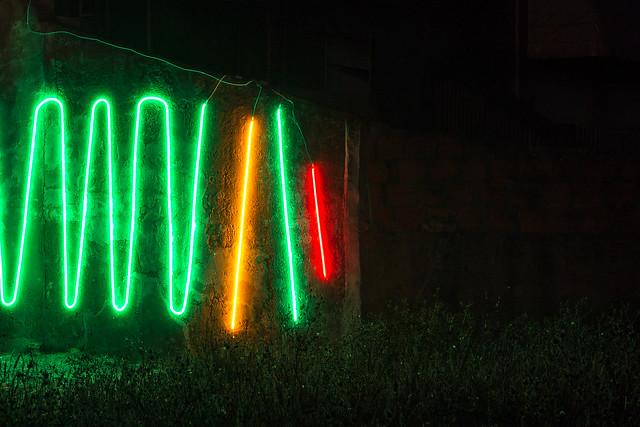 Interactive Neon Mural #1