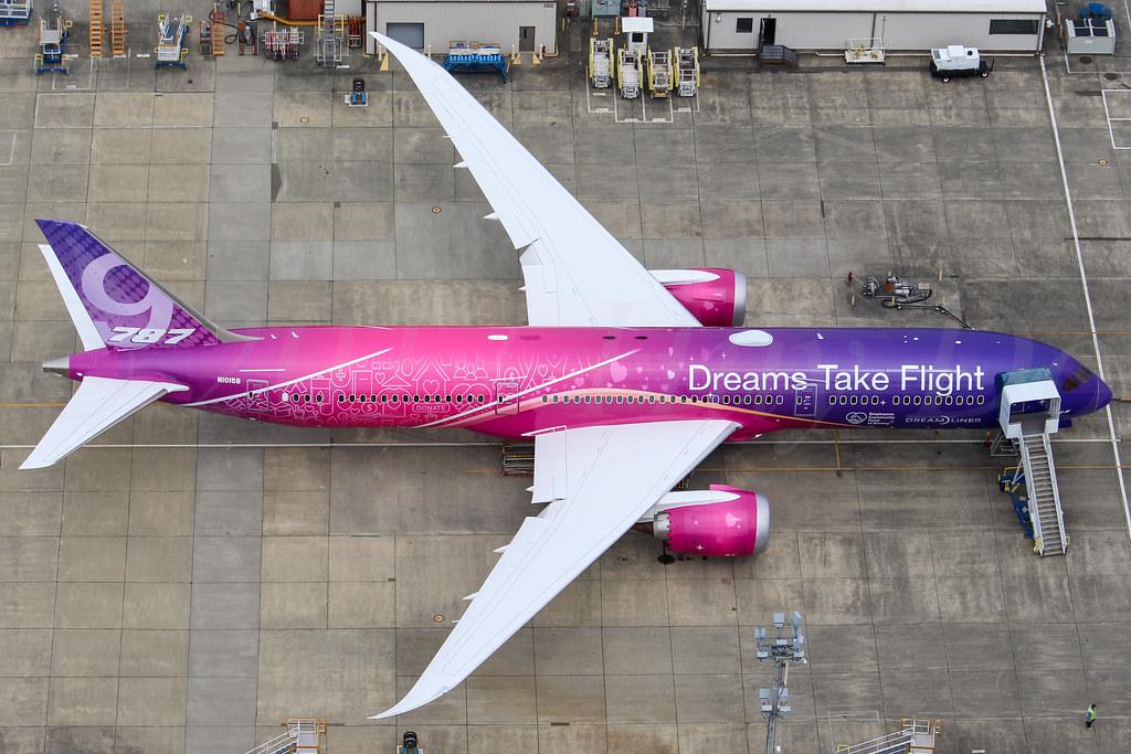 Boeing 787-9, Boeing, N1015B, LN891