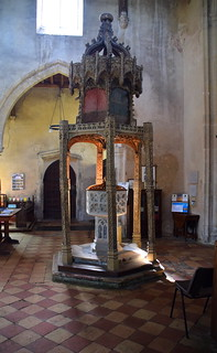 The Trunch font canopy (early 16th Century)