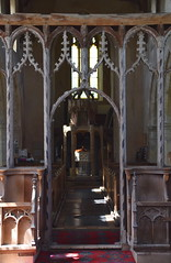 looking west from the chancel