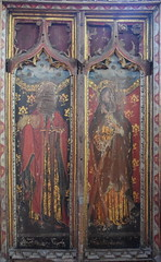rood screen south: St Paul and St Andrew