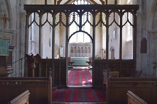 rood screen (15th Century)
