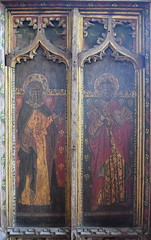 rood screen north: St James and St Peter