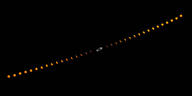 Total Solar Eclipse 21/08/17 Widefield (2019 Reprocess)