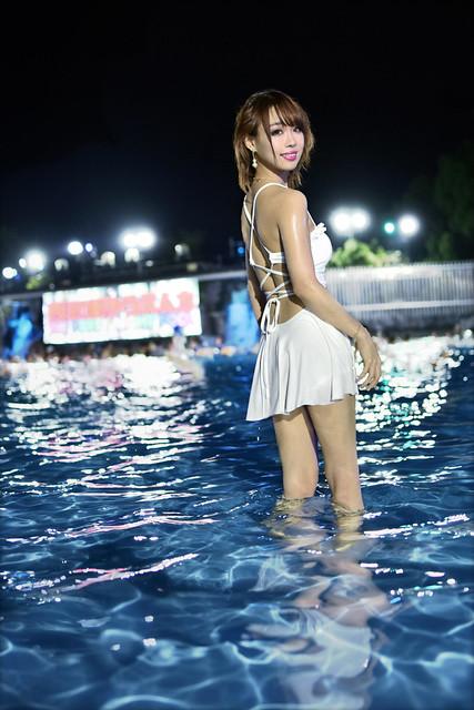 Night Pool@SEIBU-EN,japan