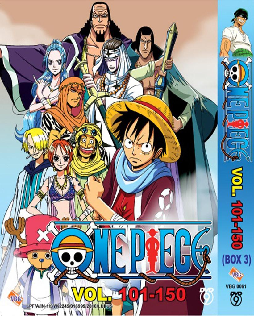 One Piece Anime Collection Box 1 Episode 1-50 DVD Box (Box 1)