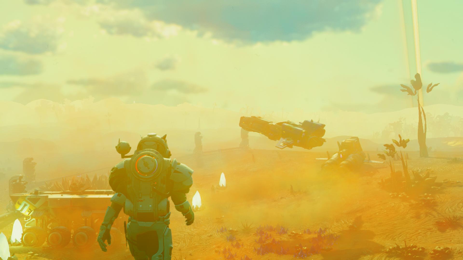 No Man's Sky Beyond on PS4