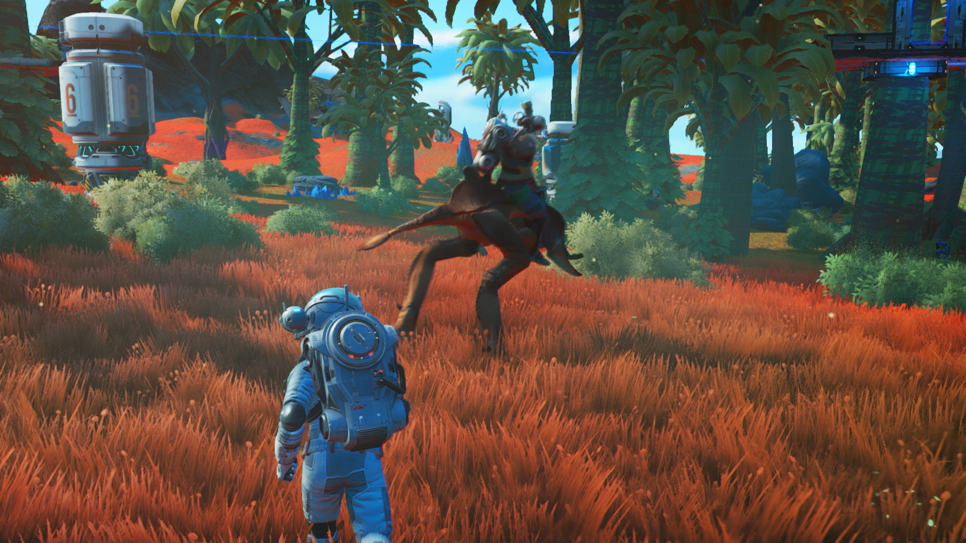 No Man's Sky Beyond on PS4