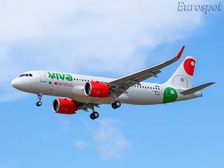 F-WWIQ Airbus A320 Neo Viva Aerobus