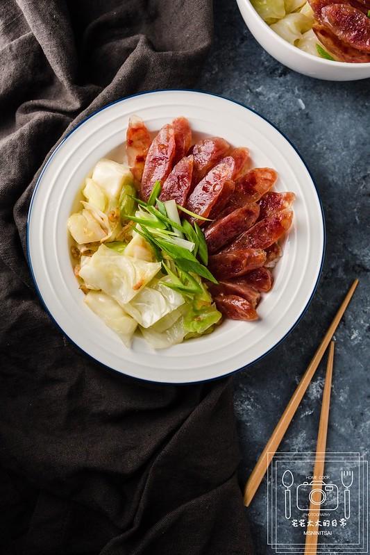 宅宅太太,臘腸蓋飯,蓋飯食譜 @陳小可的吃喝玩樂