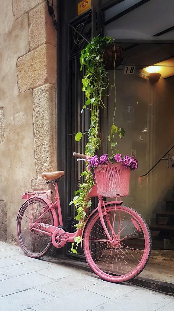 #tesoro8: Una bicicleta con cesta