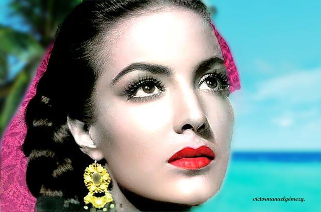 MARIA BONITA. Dedicated to Maria Felix. Mexican Actress.RIP