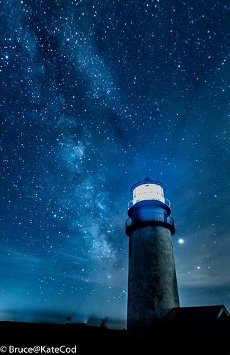 A Starry Starry Lighthouse Night