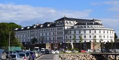 Muralla y Hospital (La Coruña, Galicia, España, 13-6-2019)