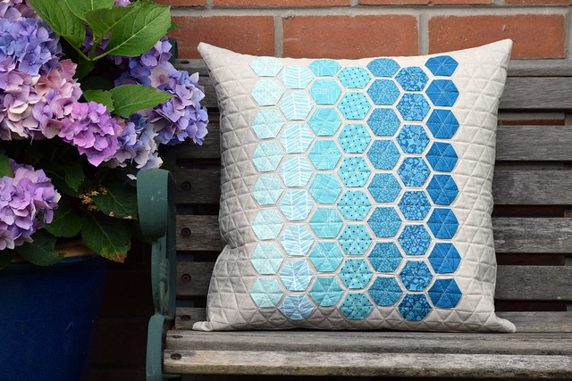 Giants Causeway Hexie Pillow Gift