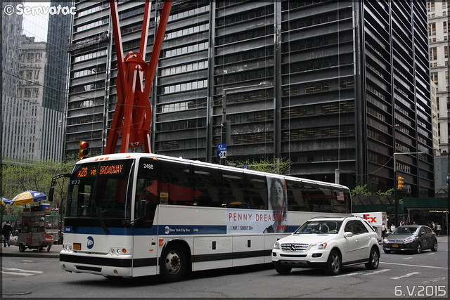 New York City Bus / MTA (Metropolitan Transportation Authority) n°2488