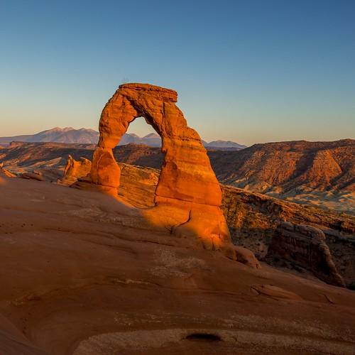 delicatearch arches archesnp nationalpark usa moab utah sunset sunrise