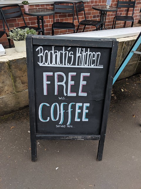 Free ... coffee?