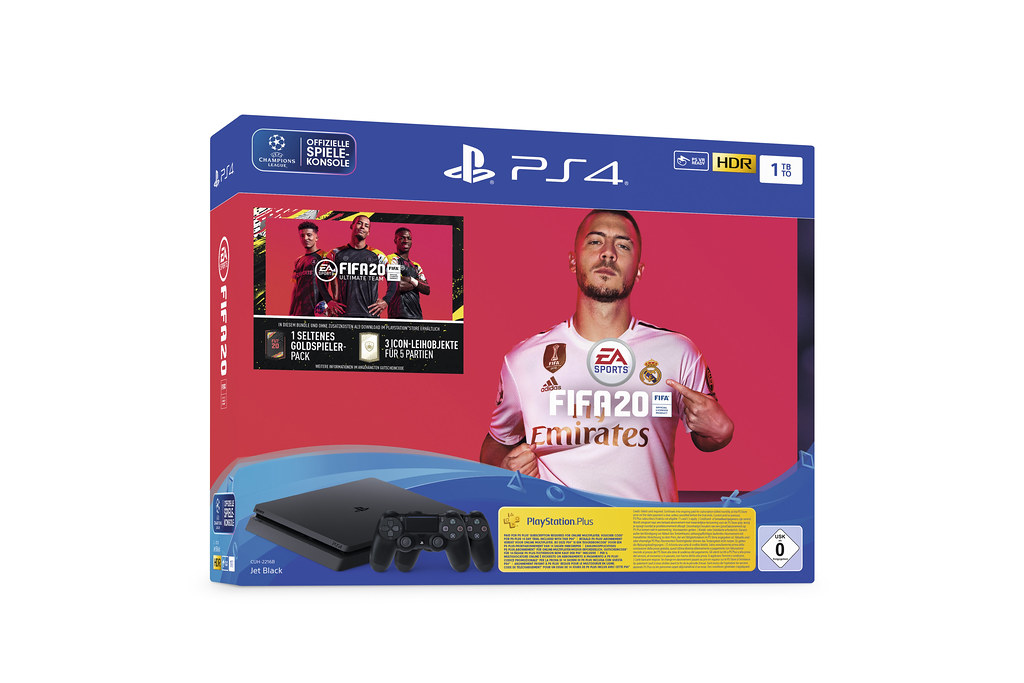 1TB PS4 + FIFA 20