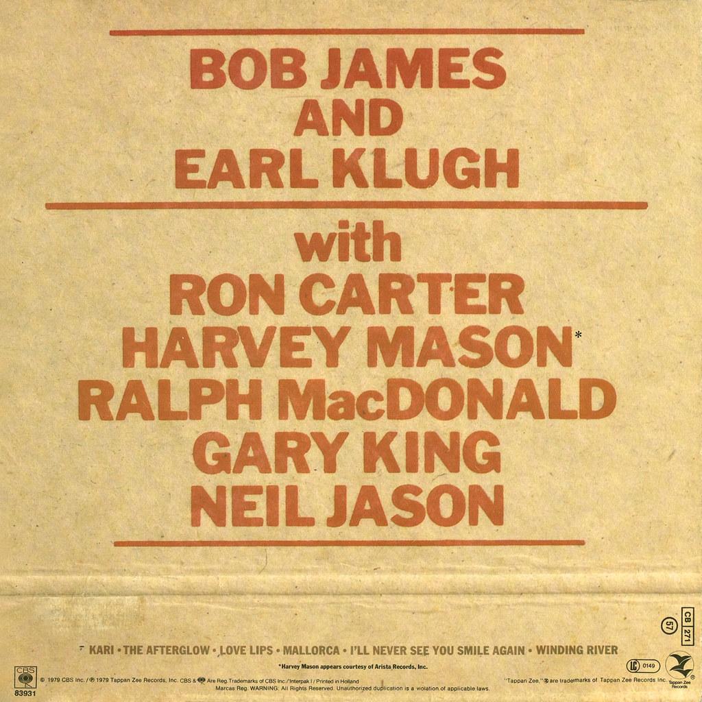 Bob James, Earl Klugh - One on One