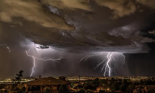 Ominous Skies Over Albuquerque