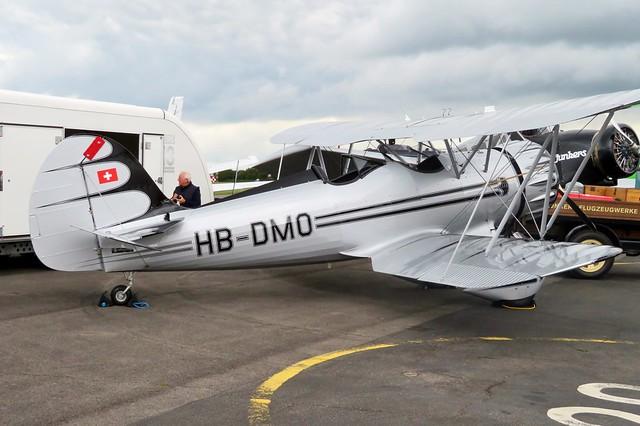 HB-DMO AeroExpo Wycombe Air Park 15 June 2019