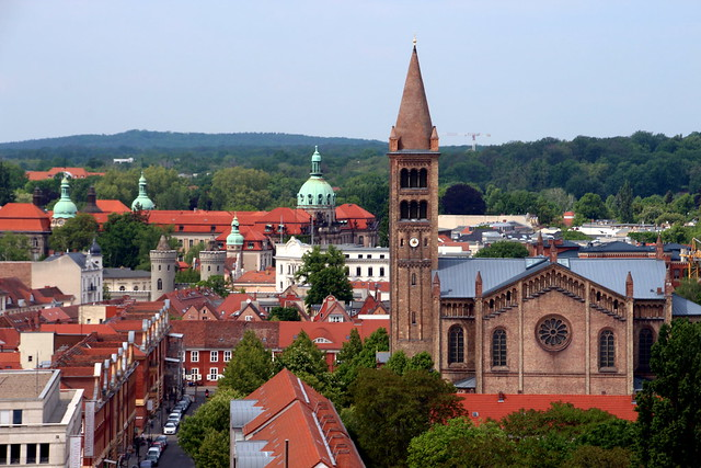 Looking Down On Potsdam