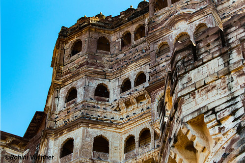 Glimpse of the grand Mehrangarh fort , Jodhpur