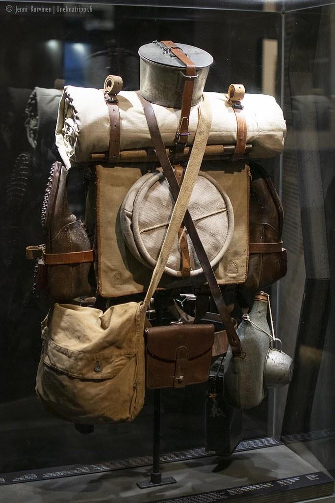 Ensimmäisen maailmansodan taisteluvarusteita