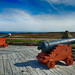 Fortress of Louisbourg's seaward cannons
