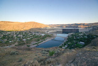 Coulee Dam, Washington, the dam and the town