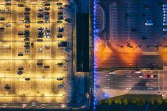 Lights | Kaunas aerial