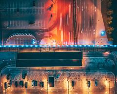 Lights | Kaunas aerial #232/365