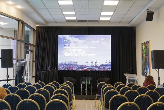 Seminario Oportunidades de los Acuerdos Comerciales en Regiones