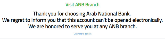 015 Opening a Bank Account in Arab National Bank 06