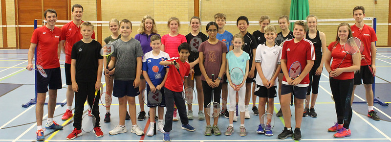 Pittville Badminton Club - Junior Summer Camp 2019