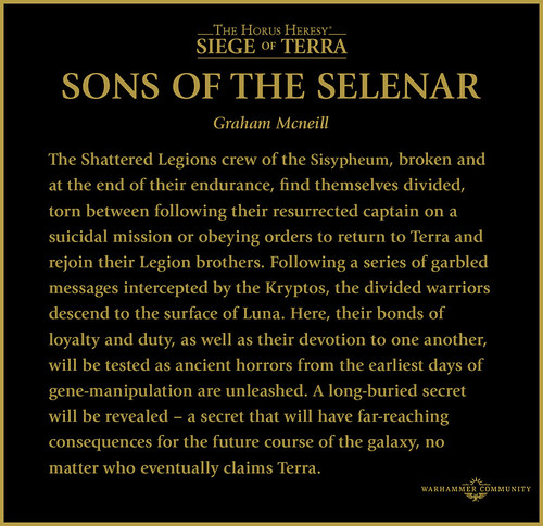 «Сыны Селенара» | Sons of the Selenar