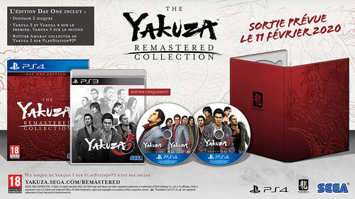 Une édition Day One pour Yakuza Remastered Collection