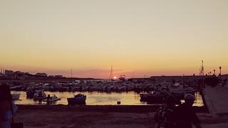 Sunset in Puglia (Torre a Mare)