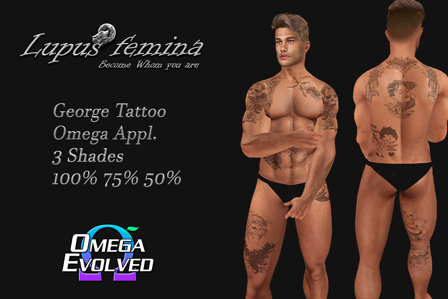 """Lupus Femina"" George Tattoo – Omega Appl."