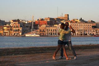 Tango all'alba