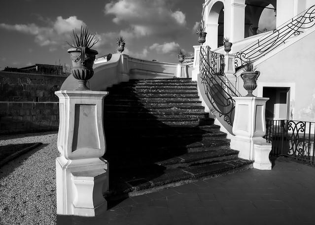 Scale del Portico Ellittico
