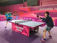 Tenis de Mesa - Parapanamericanos 21-08-2019