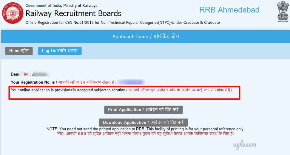 RRB NTPC Admit Card 2019, Exam Date, Application Status After Scrutiny Soon