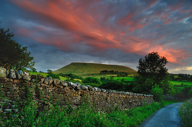 Pendle colourburst
