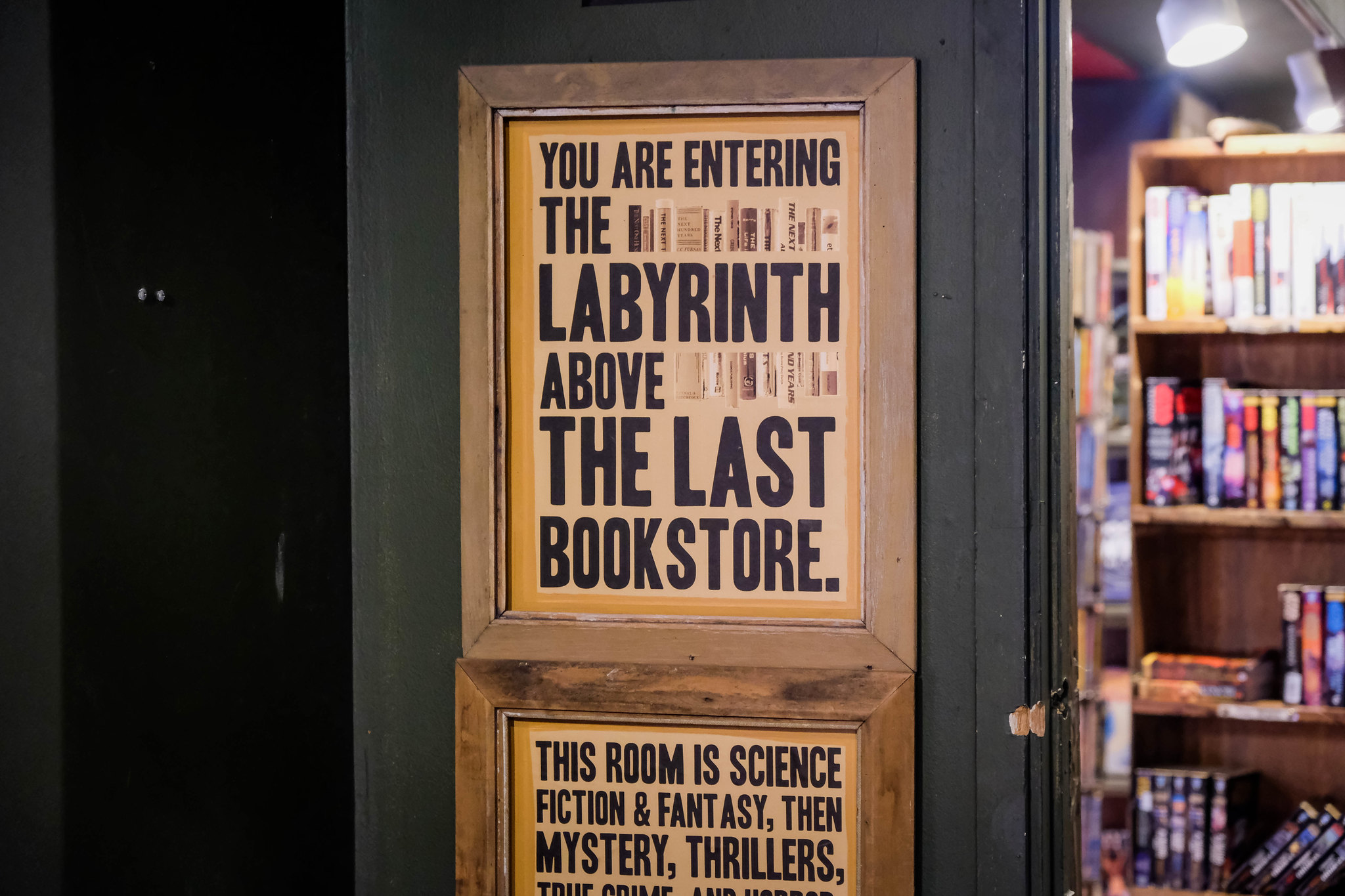 Book labyrinth!