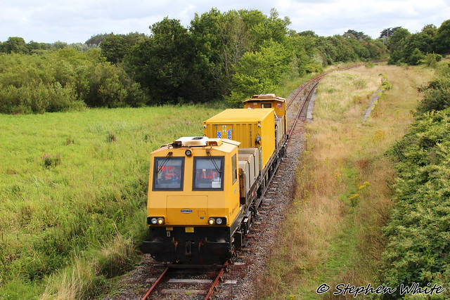 MPV 790's first ever visit to the South Wexford line @ the former Killinick Station, Co. Wexford